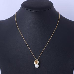 Kate Spade Pearl Daisy Necklace